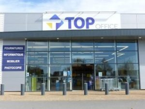 un magasin Top Office
